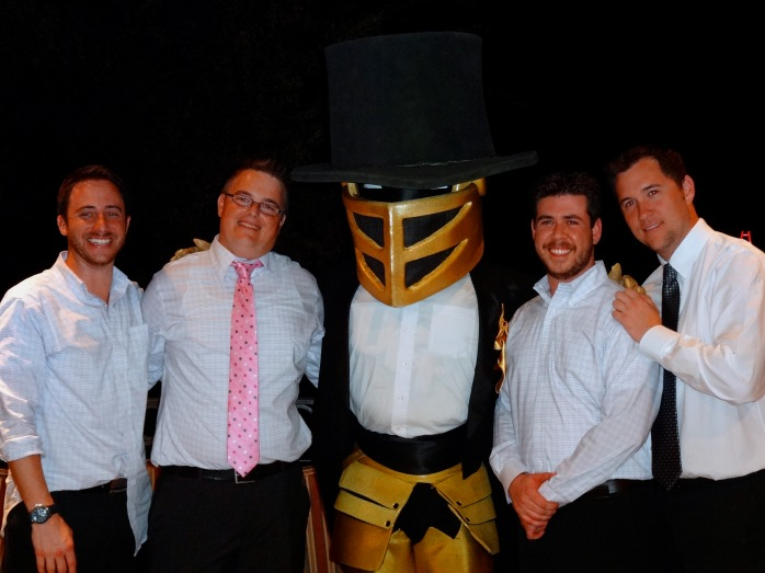 Wedding recap - Knightro!