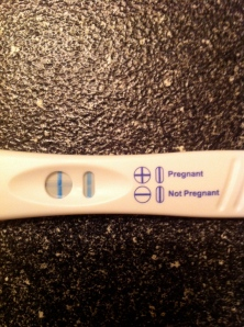 Pregnancy test - you're doing it wrong