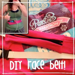 diy race belt